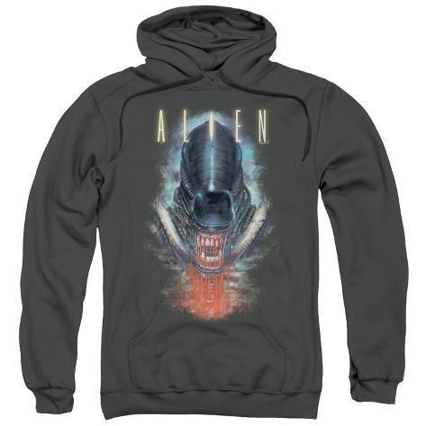 Hoodie: Alien - Bloody Jaw Pullover Hoodie