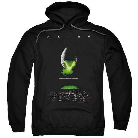 Hoodie: Alien - Poster Pullover Hoodie