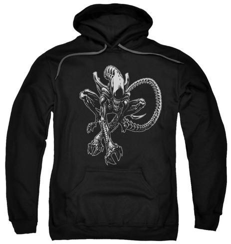Hoodie: Alien - Xenomorph Pullover Hoodie