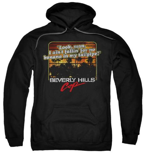 Hoodie: Beverly Hills Cop - Banana In My Tailpipe Pullover Hoodie