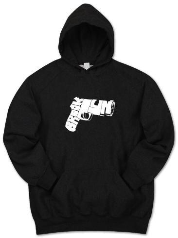 Hoodie: Brookyn Gun Pullover Hoodie