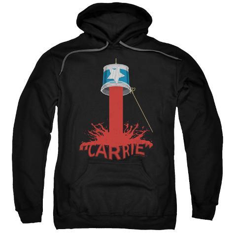 Hoodie: Carrie- Blood Bucket Pullover Hoodie