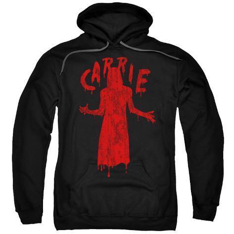 Hoodie: Carrie- Bloody Silhouette Pullover Hoodie