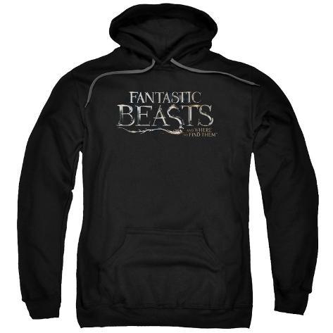 Hoodie: Fantastic Beasts- Movie Logo Pullover Hoodie