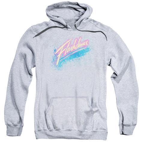 Hoodie: Flashdance - Spray Logo Pullover Hoodie