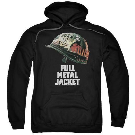 Hoodie: Full Metal Jacket/Poster Art Pullover Hoodie