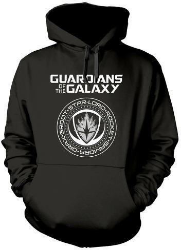Hoodie: Guardians Of The Galaxy- Official Member Seal Pullover Hoodie