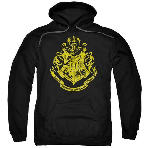 Hoodie: Harry Potter- Hogwarts Crest Pullover Hoodie