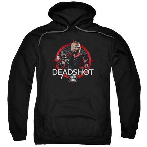 Hoodie: Suicide Squad- Deadshot Target Pullover Hoodie