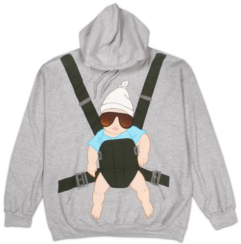 Hoodie: The Hangover - Baby Bjorn Pullover Hoodie