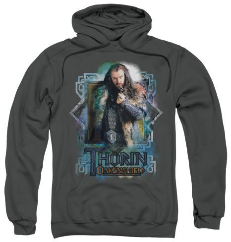 Hoodie: The Hobbit: An Unexpected Journey - Thorin Oakenshield Pullover Hoodie