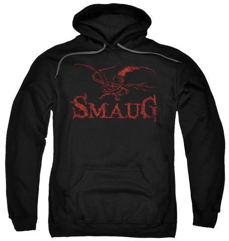 Hoodie: The Hobbit: The Desolation of Smaug - Dragon Pullover Hoodie
