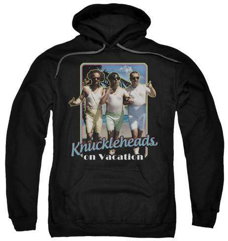 Hoodie: The Three Stooges - Knucklesheads On Vacation Pullover Hoodie