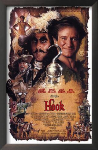 Hook: A Volta do Capitão Gancho Impressão artística emoldurada
