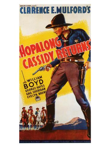 Hopalong Cassidy Returns, 1936 Art Print