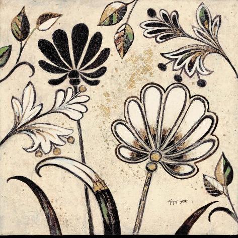 Floral Pattern 1 Stampa artistica