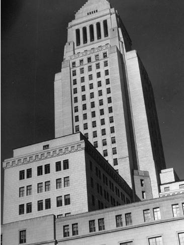 Exterior of City Hall Photographic Print