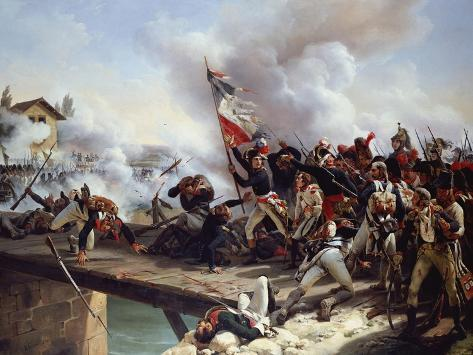 The Battle of Arcole Gate, 1826 Giclee Print