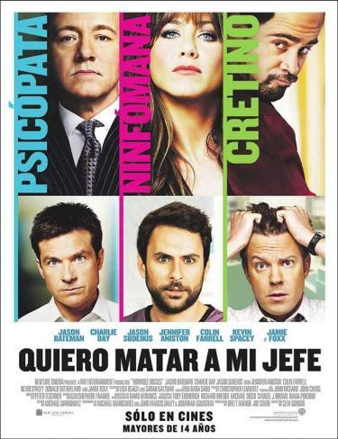 Horrible Bosses - Chilean Style Masterprint