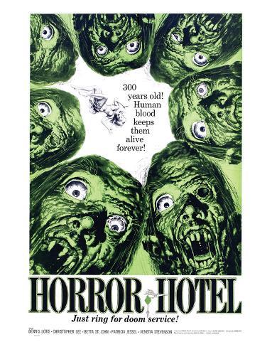 Horror Hotel - 1960 Impressão giclée