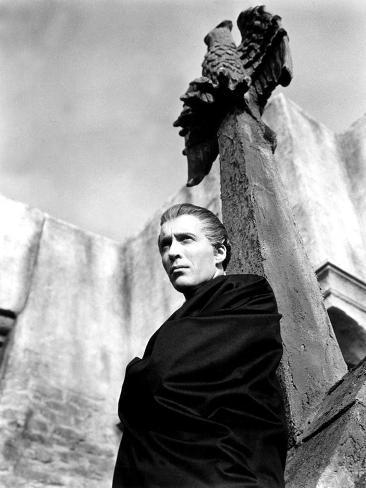 Horror of Dracula, Christopher Lee, 1958 Foto