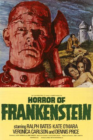 Horror of Frankenstein Art Print