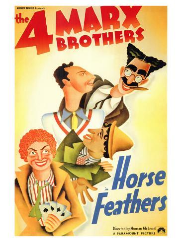 Horse Feathers, 1932 Konstprint