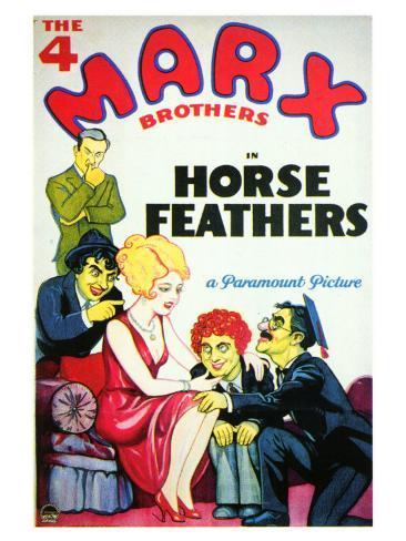 Horse Feathers, 1932 Art Print