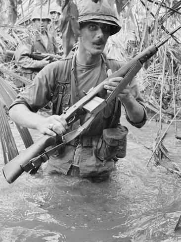 Vietnam War 1965 Photographic Print