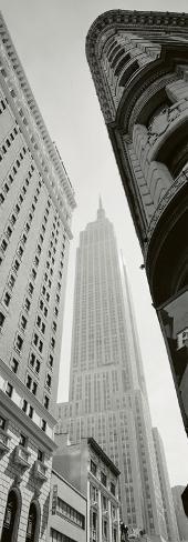 Empire State Building, Broadway Art Print