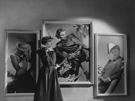 Vogue - February 1938 Premium Photographic Print