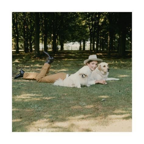 Vogue - July 1971 Premium Photographic Print