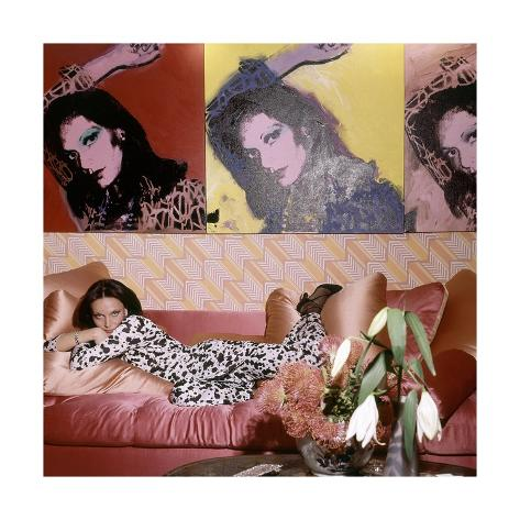 Vogue - July 1976 Premium Photographic Print