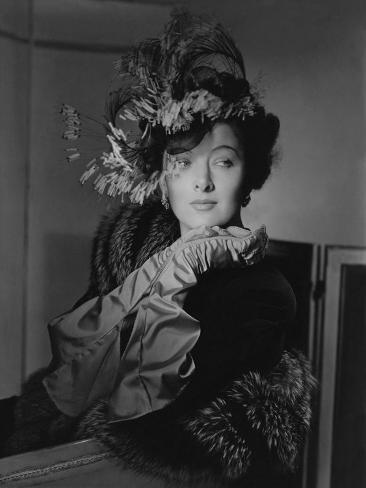 Vogue - November 1942 Premium Photographic Print
