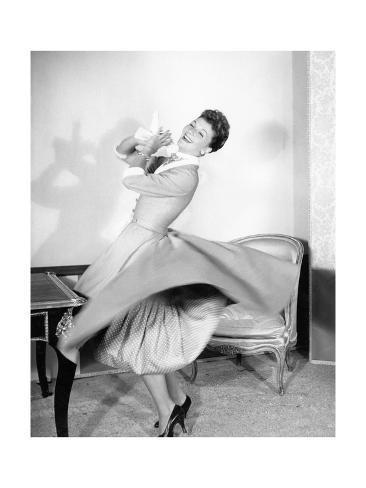 Vogue - November 1953 Premium Photographic Print