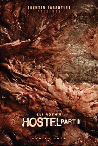 Hostel: Part II Dubbelsidig poster