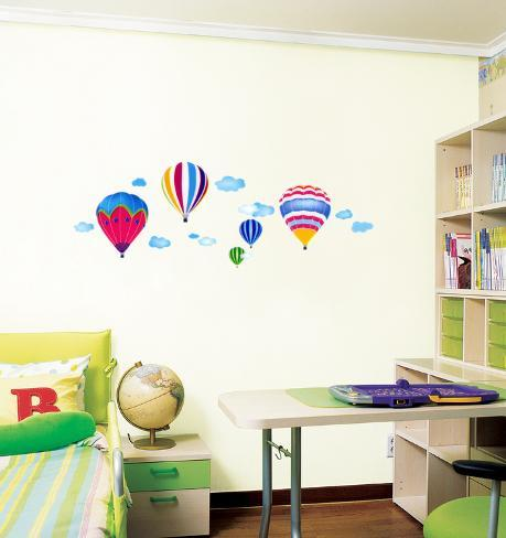 Hot Air Balloons in the Sky Wall Decal