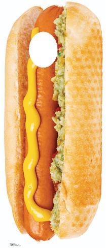 Hot Dog Stand In Cardboard Cutouts
