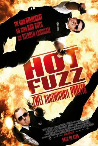 Hot Fuzz - German Style Poster