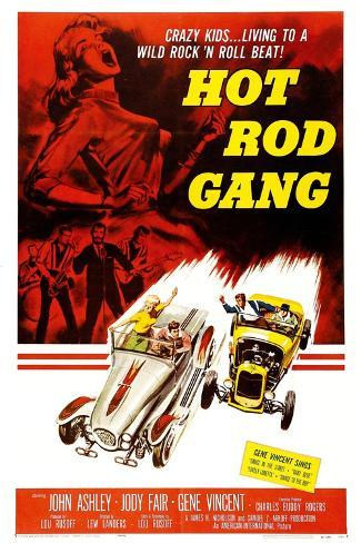 Hot Rod Gang, 1958 Art Print