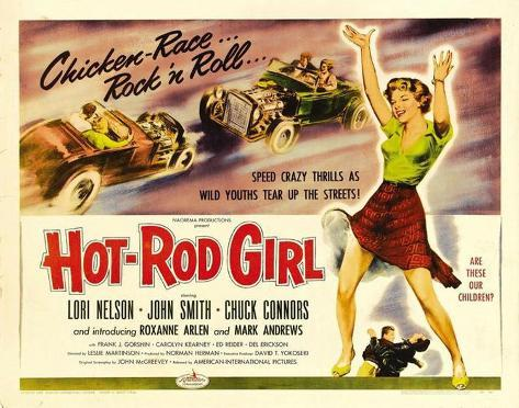 Hot Rod Girl -  Style Poster