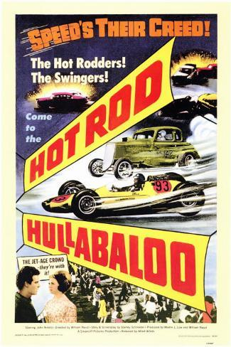 Hot Rod Hullabaloo Masterprint