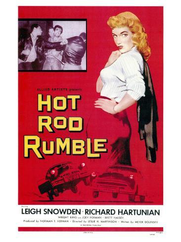 Hot Rod Rumble, 1957 Art Print