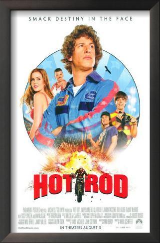 Hot Rod Impressão artística emoldurada