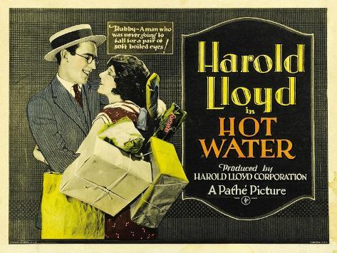 Hot Water [1924], Directed by Fred Newmeyer. Premium Giclee Print
