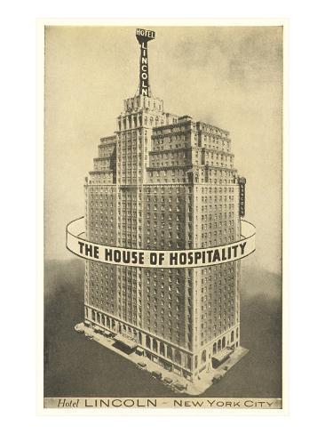 Hotel Lincoln, New York City Art Print