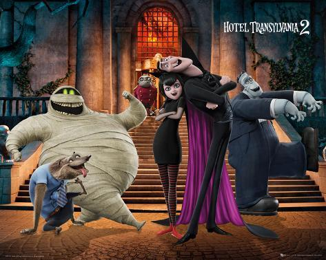 Hotel Transylvania- Group Welcome Mini Poster