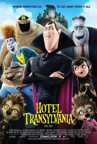 Hotel Transylvania Movie Poster ポスター