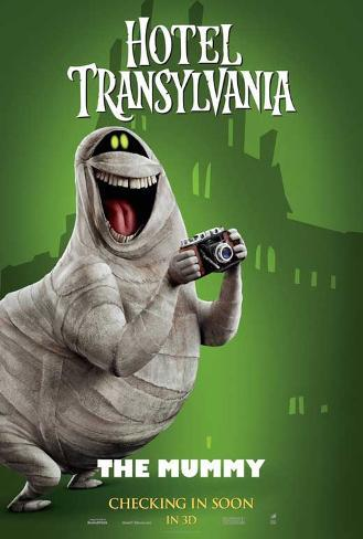 Hotel Transylvania Movie Poster マスタープリント