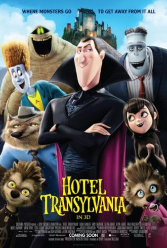 Hotel Transylvania Movie Poster Double-sided poster
